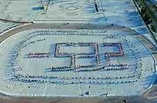 جشنواره پاشیدن آب در هوای 53.2- شمال چین!