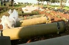 کشف موشکهای ضد زره تاو از تروریستها در سوریه