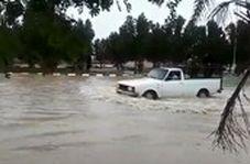 سیلی که باران شدید در خوزستان به راه انداخت