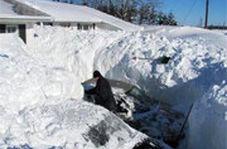 تایملپسی دیدنی از بارش برف 2متری در کانادا
