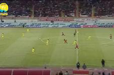 خلاصه بازی تراکتور 1 - 0 پارس جنوبی جم