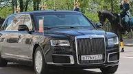 رونمایی از خودرو جدید پوتین