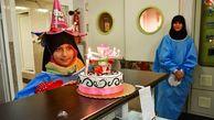 جشن تولد لاکچری دختر یک جانباز