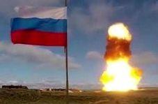 آزمایش موشک جدید سامانه دفاع ضدهوایی نیروی هوافضای روسیه از خاک قزاقستان