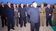 بازدید کیم جونگ اون از آزمایش موشکی کره شمالی