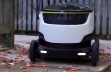 ربات هوشمندی که نوعی پیک موتوری است!