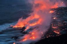 فوران آتشفشان در هاوایی این جزیره را به چه شکلی درآورد!