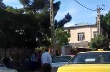 دعوای دلار فروشان خیابان گمرک کرمانشاه بخاطر دلار