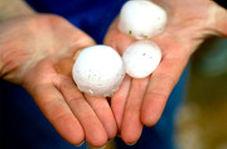 بارش وحشتناک تگرگ در آمریکا