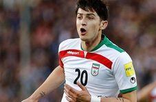 توئیت جالب AFC درباره گل سردار آزمون