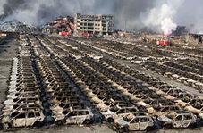 آتش گرفتن دهها خودرو در پارکینگ!