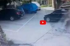 بدترین پارک خودرو که تابحال دیده اید!